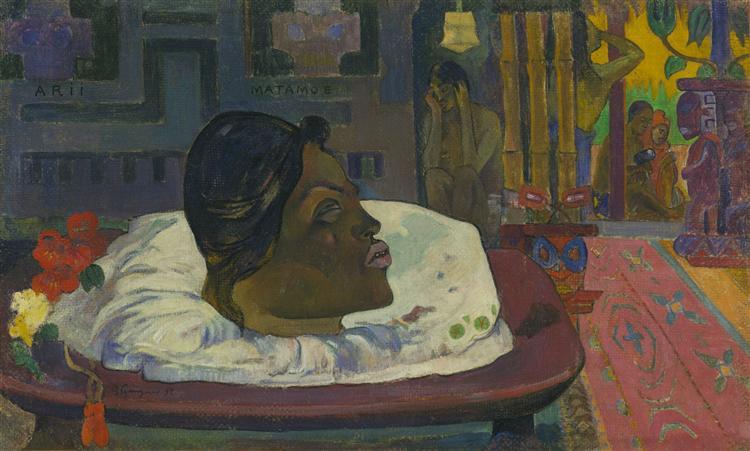 The Royal End, 1892 - Paul Gauguin