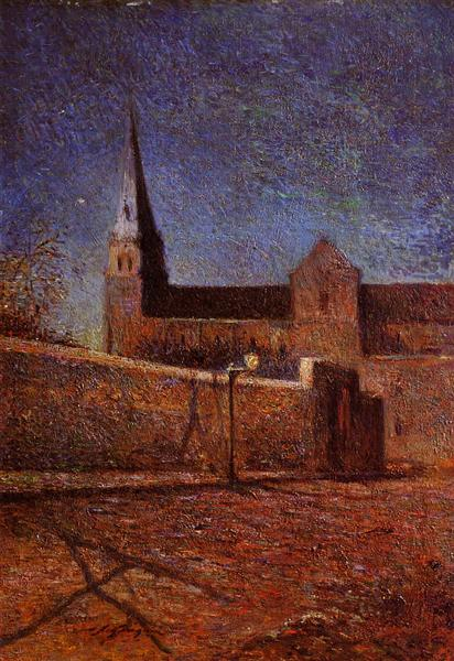 Vaugirard church, 1879 - Paul Gauguin