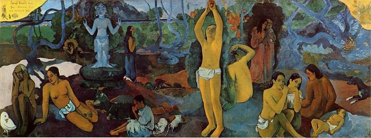 Where Do We Come From? What Are We? Where Are We Going?, 1897 - Paul Gauguin
