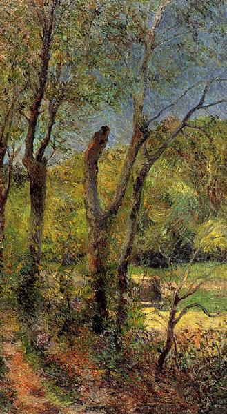 Willows, 1885 - Paul Gauguin