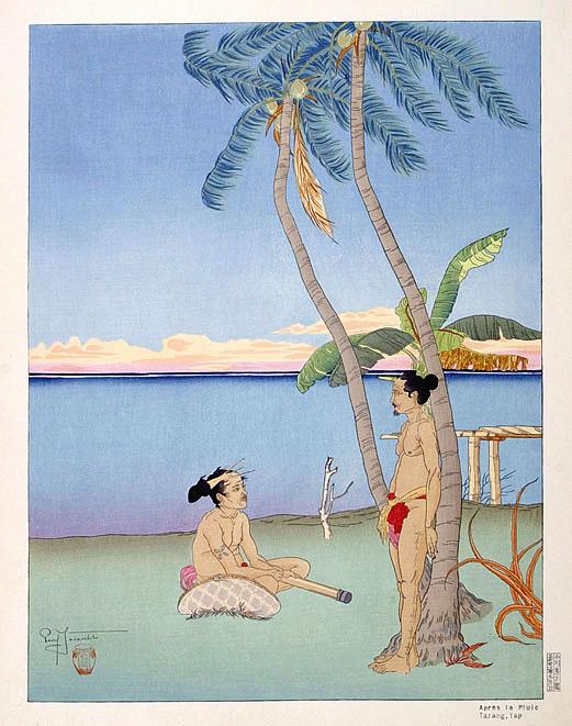 Apres La Pluie. Tarang, Yap, 1938