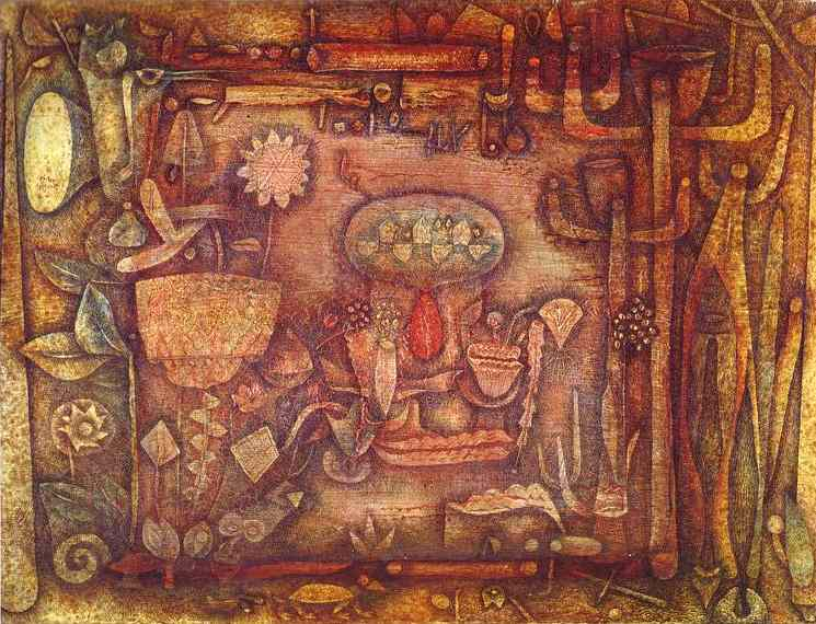 Botanical Theater, 1924 - Paul Klee