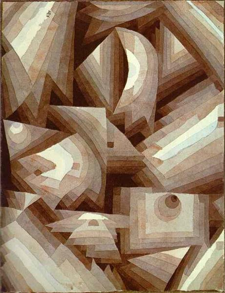 Crystal Gradation, 1921 - Paul Klee