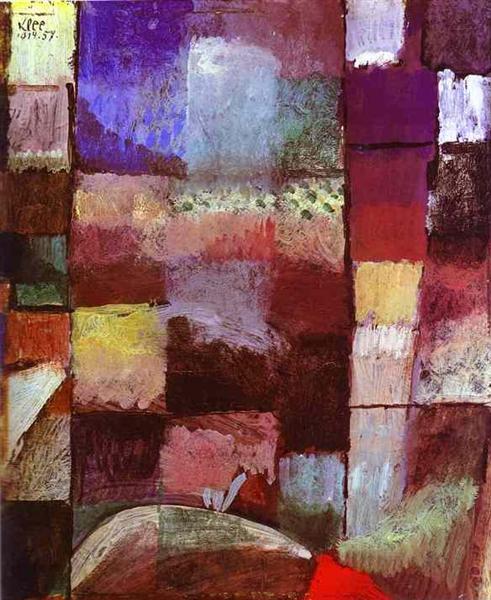 Hamamet, 1914 - Paul Klee
