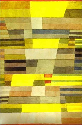 Monument by Paul Klee