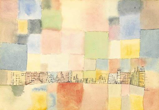 Neuer Stadtteil in M, 1928 - Paul Klee