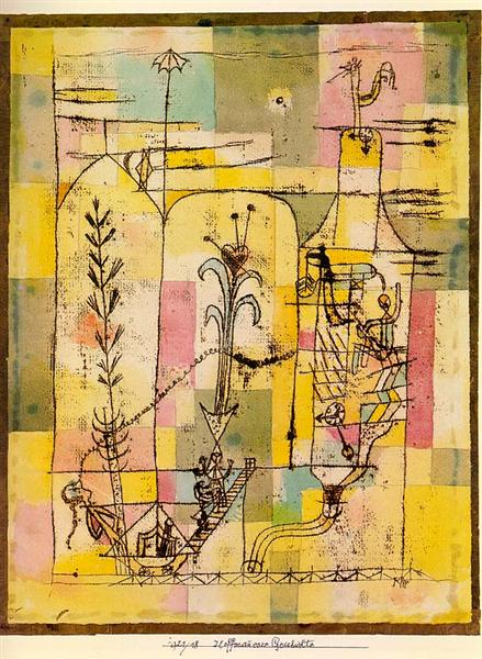 TaleofHoffmann, 1925 - Paul Klee