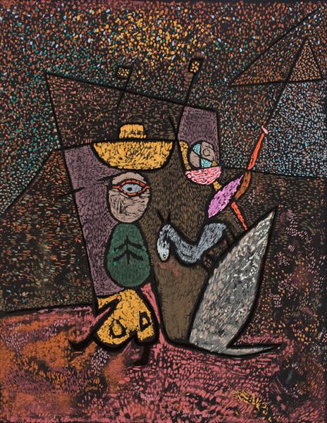 The Travelling Circus, c.1940 - Paul Klee