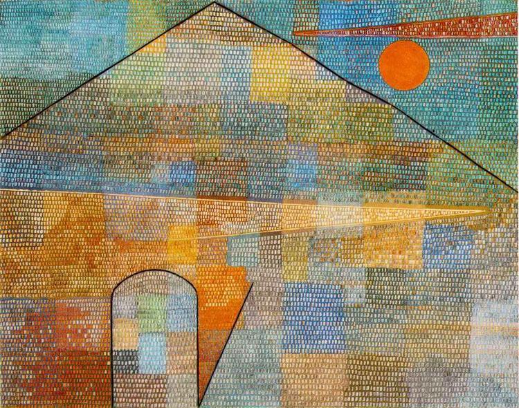 Ad Parnassum, 1932 - Paul Klee