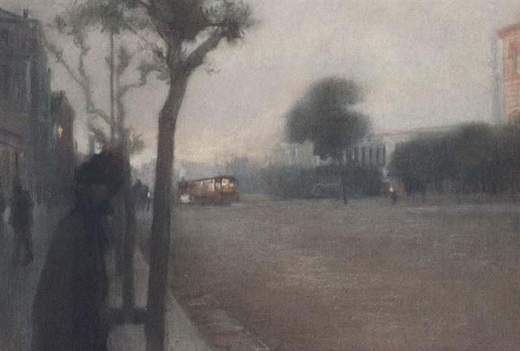 Panepistimiou street - Paul Mathiopoulos