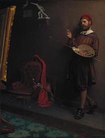 The Painter - Paul Peel