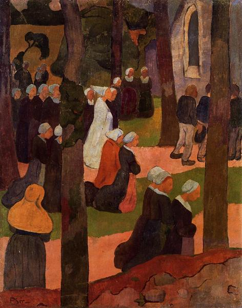 A Breton Sunday, 1890 - Paul Serusier