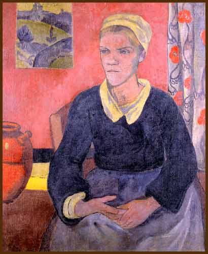 Louise (The Breton servant), 1890 - Paul Serusier