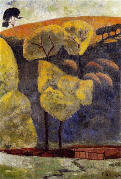 The Blue Valley, 1906 - Paul Serusier
