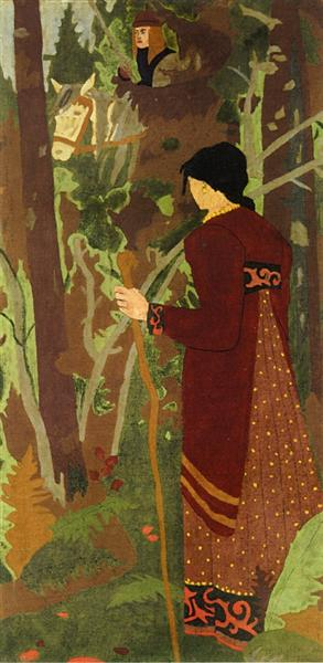 The Fairy and the Knight, 1912 - Paul Serusier