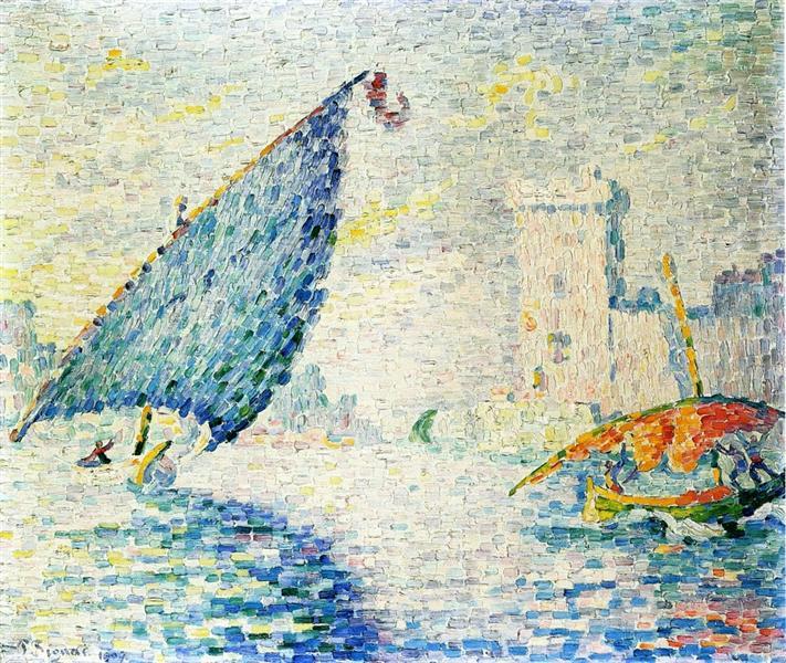 Fort Saint-Jean, Marseilles, 1907 - Paul Signac