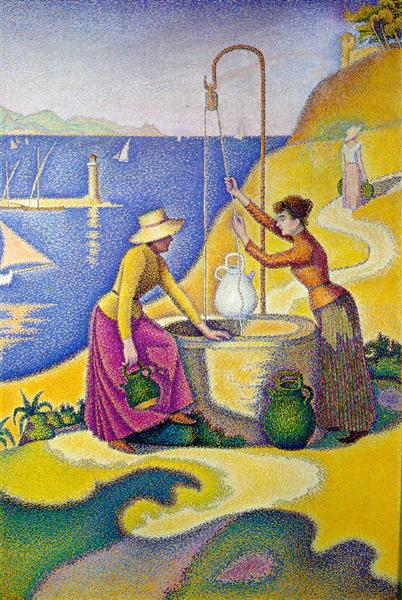 Women at the Well, 1892 - Paul Signac