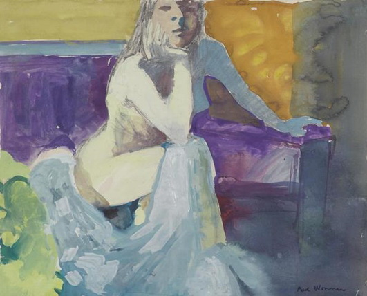 The Model with Pensive Look - Paul Wonner