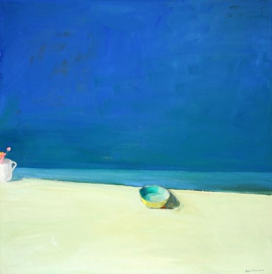 Yellow Bowl, Cup And Flowers, 1966 - Paul Wonner