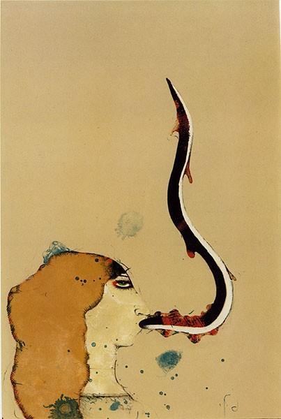La Pêcheresse, 1967 - Paul Wunderlich