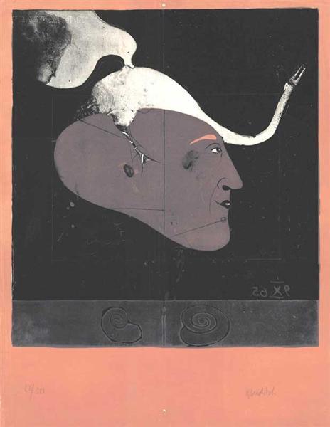 Self-Portrait, 1965 - Paul Wunderlich