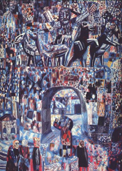 The Narva Gates, 1929 - Pavel Filonov