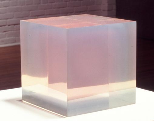 Pink Blue Cube, 1967 - Peter Alexander