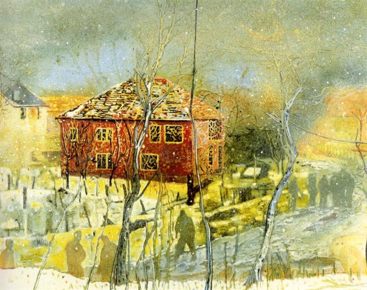 Red House, 1995 - Peter Doig