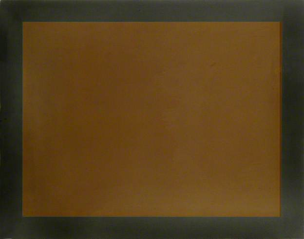 Brown Colour with Grey-Black Border, 1979 - Peter Joseph
