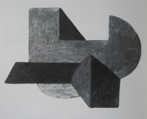 Space construction VI, 1923 - Peter Laszlo Peri