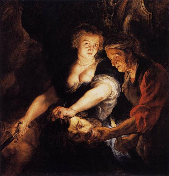 Judith with the Head of Holofernes, c.1616 - Peter Paul Rubens
