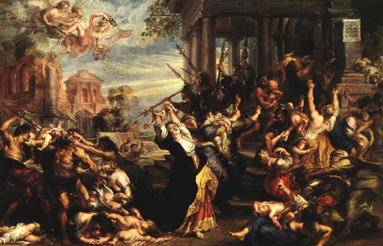 Massacre dos Inocentes - Peter Paul Rubens