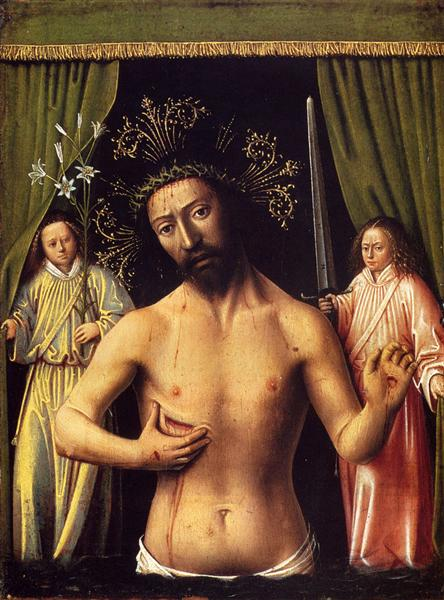 The Man of Sorrows, 1444 - 1446 - Петрус Кристус
