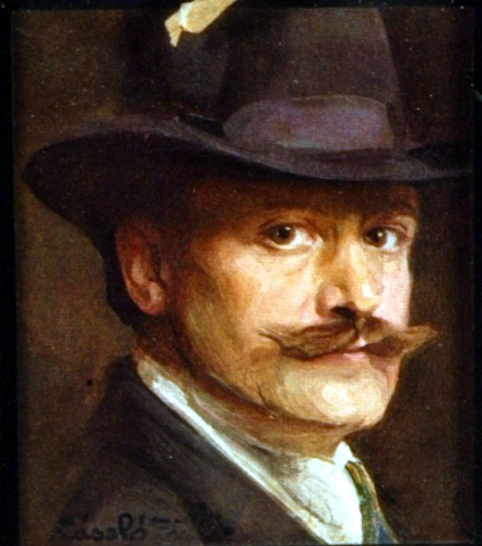 Self-Portrait, 1911 - Филип де Ласло