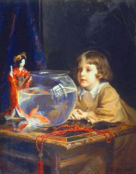 The Son of the Artist, 1917 - Philip de Laszlo