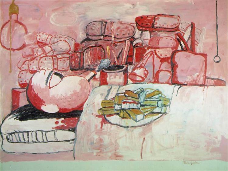 Painting, Smoking, Eating, 1972 - Philip Guston
