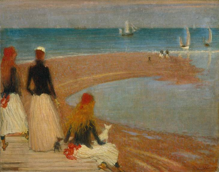 The Beach at Walberswick, c.1889 - Philip Wilson Steer