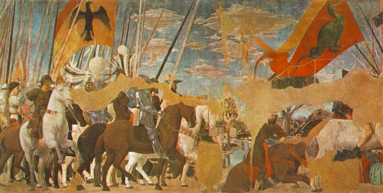 Battle Between Constantine And Maxentius, 1464 - Piero della Francesca