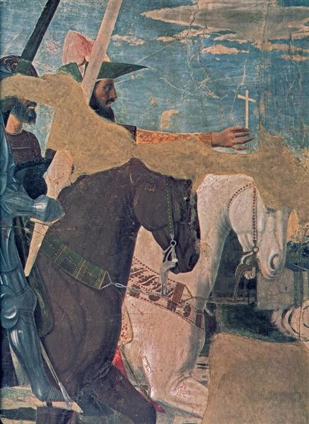 Constantine's Victory over Maxentius (detail), 1452 - 1466 - Piero della Francesca