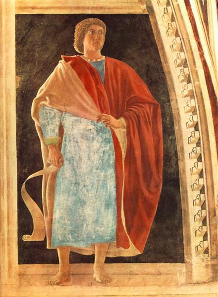 Prophet, 1458 - 1466 - Piero della Francesca