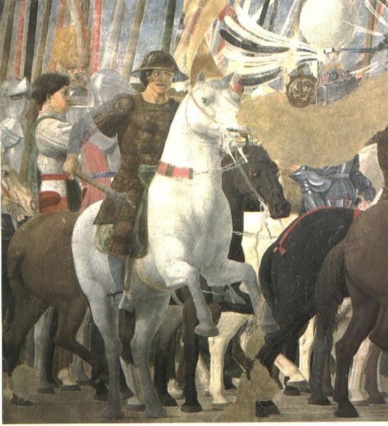 Victory of Constantine at the Battle of the Milvian Bridge, 1464 - Piero della Francesca