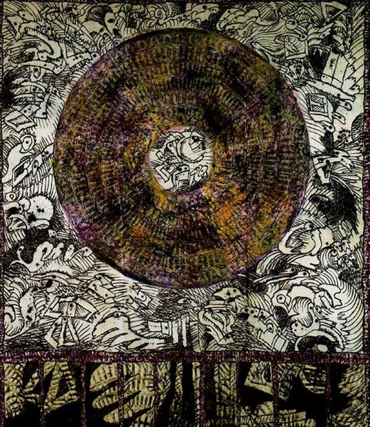 Compass - Pierre Alechinsky