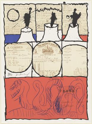 Lagache Sale, 1971 - Pierre Alechinsky