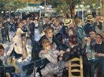 O baile no moulin de la galette - Pierre-Auguste Renoir