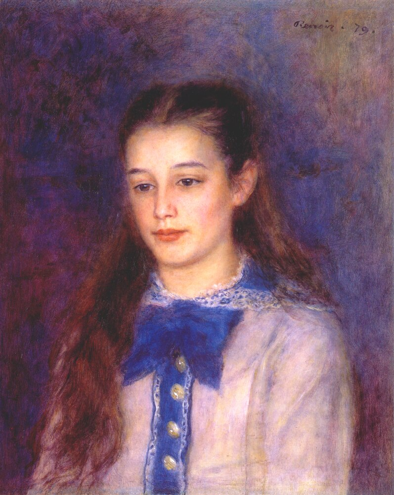 Portrait of Therese Berard, 1879 - Pierre-Auguste Renoir ...
