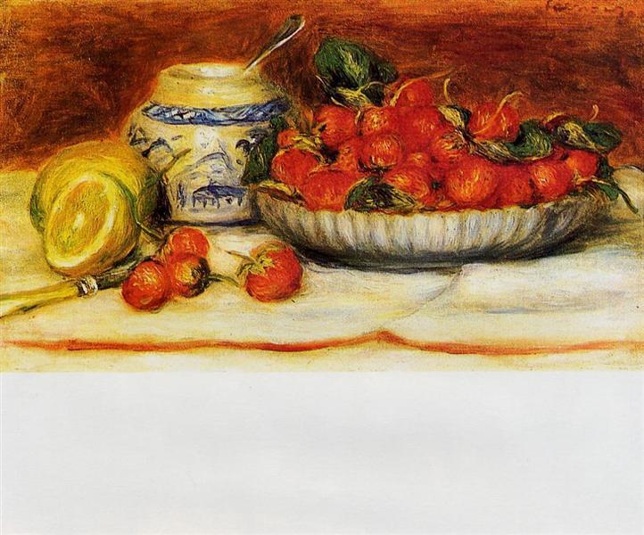 Strawberries, c.1905 - Pierre-Auguste Renoir
