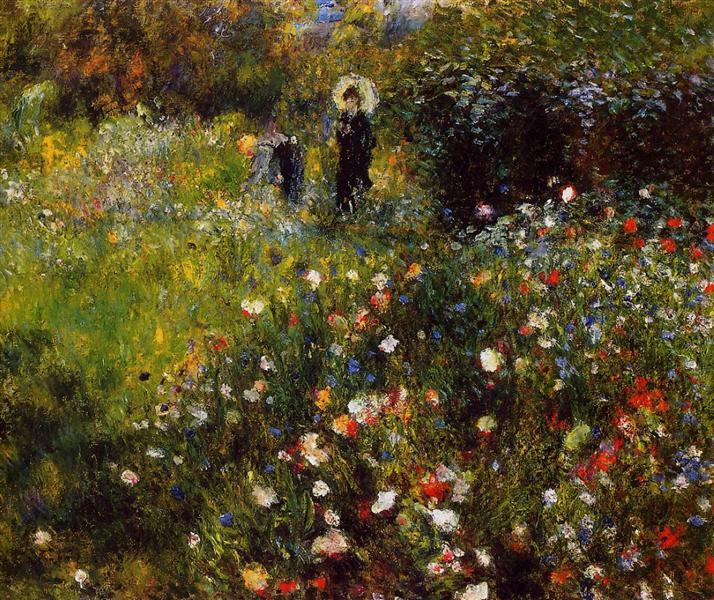 Summer Landscape, 1875 - Pierre-Auguste Renoir