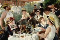 O Almoço dos Barqueiros - Pierre-Auguste Renoir