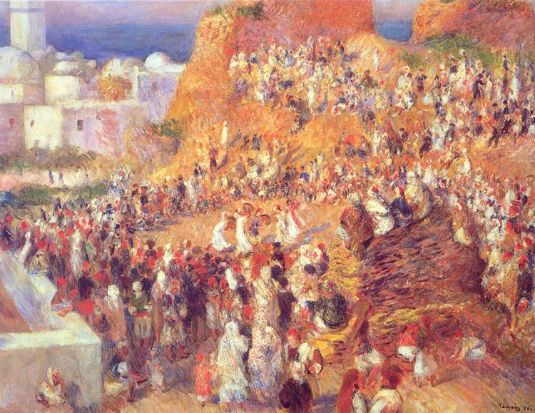 The Mosque Arab Holiday (The Casbah), 1881 - Pierre-Auguste Renoir