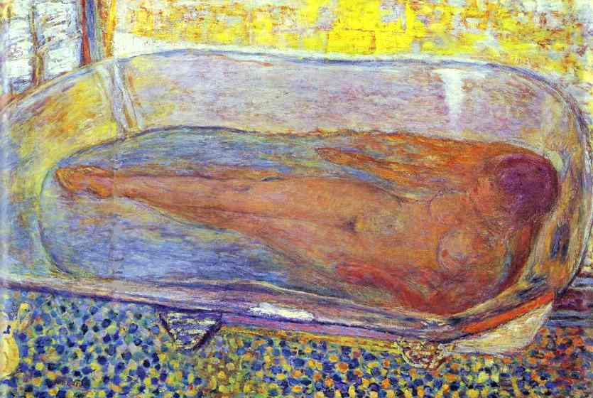 bather, 1935 - pierre bonnard - wikiart